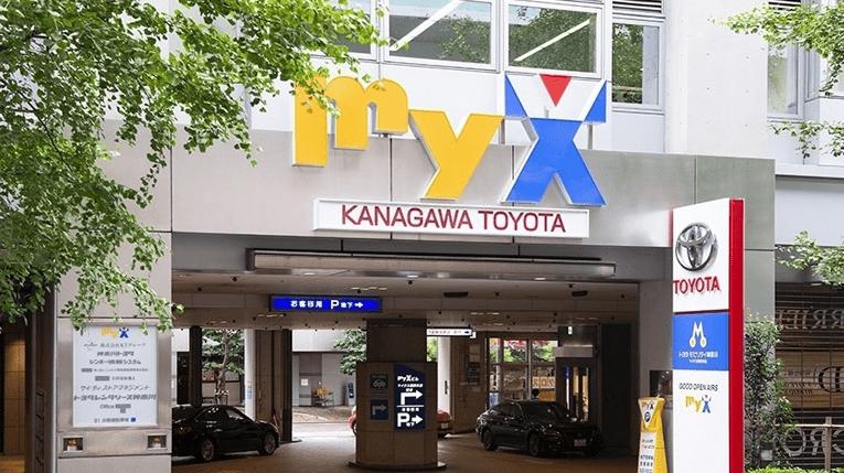 myX横浜外観